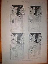 El triunfante trovador Rene Bull dibujos animados 1893
