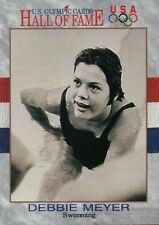 Debbie Meyer Swimming US Olympic Trading Card Olympics Hall of Fame NOT Postcard