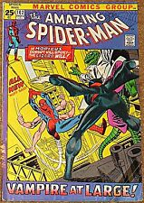 AMAZING SPIDERMAN 102 F/VF 7.0 RARE KEY ORIGIN MORBIUS 53 PAGE GIANT GIL KANE