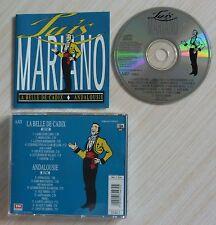 CD ALBUM LA BELLE DE CADIX 1945 ANDALOUSIE 1947 LUIS MARIANO 15 TITRES 1989