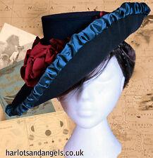 "Buckram ""Irene Adler"" Victorian Hat Millinery Sewing Pattern (IAHP)"