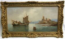 Anton Schoth ( German / Austrian 1859-1906)  Signed Maritime Painting