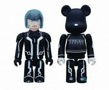 TRON Legacy Sam Kubrick & Lightcycle Bearbrick 2-Pack Disney NIB #sdec15-81