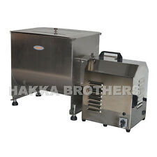 HAKKA 100 Pound /50 Liter Capacity Tank Commercial Electric Meat Mixer FME50B