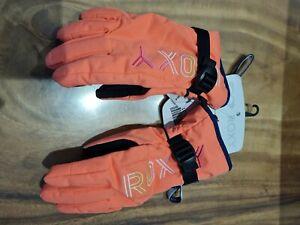 Roxy Girl Technical Riding Gloves M Medium Snowboard/Ski Gloves Women warmflight