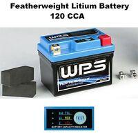 Suzuki Boulevard M50 LTD VZ800Z 2007 WPS Featherweight Lithium Ion Battery