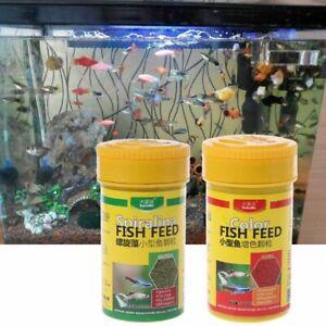 Aquarium Spirulina Food Tropical Nutrition Fish Tank Color Enhanced Pet Supplies