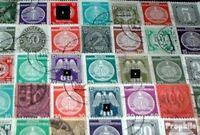 Deutschland 50 verschiedene Dienstmarken