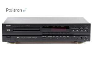 Denon DCD-715 CD Player schwarz / Digital Audio Out / gewartet 1 Jahr Garantie