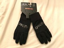 OAKLEY FACTORY PARK GLOVE BLACK SMALL S SNOWBOARDING SKI NEW SNOW