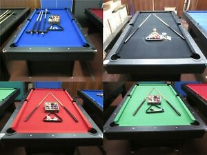 NEW 2020 MODEL  DELUXE  7 FOOT POOL TABLE WITH ACCESSORIES
