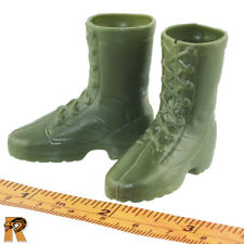 Vietnam Air Cavalry - Boots (for Feet) - 1/6 Scale - SOW Action Figures