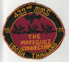 Wartime 432nd MMS, Mayeguez Connection Patch / Insignia