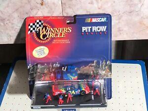 1998 Kenner Winner's Circle Jeff Gordon Pit Row Series Nascar-S-17