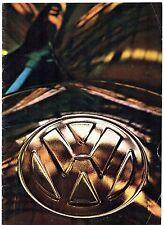 Volkswagen 1966-67 UK Market Sales Brochure Beetle Karmann Ghia 1600 Transporter