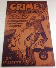 Crime Shorts 2nd Collection – UK pulp digest – Mid-1940's - Pub: Gerald F. Swan