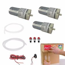 DC 6V 9V Mini Air Pump Motor kits For Homemade  Dispenser Machine Fountain Drink