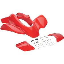 NEW HONDA TRX 400EX 99 - 04 FIGHTING RED FRONT FENDER PLASTIC TRX400EX PLASTICS