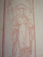 ap Albrecht DÜRER (1471-1528) INCUNABLE Litho STRIXNER LIVRE PRIERE MAXIMILIEN b