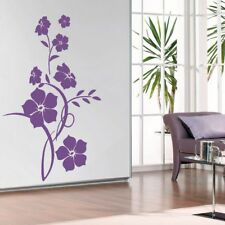 Flower Living Room Hallway Bedroom Wall Art Vinyl Decal GIFT Sticker V109