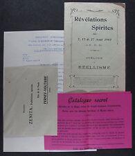 [B2689] Révélations spirites, Zenita de Ferney-Voltaire. Magie noire