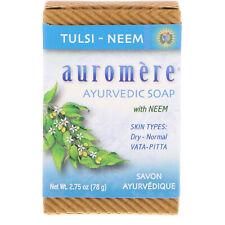 Ayurvedic Soap, with Neem, Tulsi-Neem, 2.75 oz (78 g)