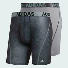 Agron  adidas Mens Sport Performance Climacool Graphic Boxer Brief Size XL