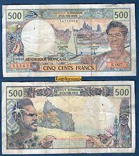 Outre Mer - 500 Francs S.007 11162 -