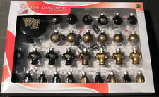 Wake Forest Demon Deacons Football Christmas Team Ornaments Blown Glass 31-Pack