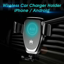 Car Vehicle Fast Wireless Charger Air Vent Mount Holder for Smart Phone