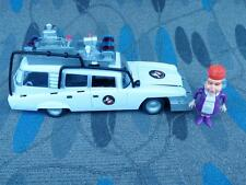1996 EXTREME GHOSTBUSTERS TRENDMASTERS ECTO 1 AMBULANCE W/ FIGURES PARTS/REPAIR