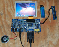 5 INCH OPEN FRAME LCD WITH - HDMI - VGA - AUDIO and COMPOSITE VIDEO INPUTS