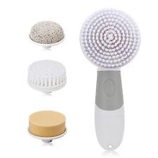 4 in1 Electric Scrub/ Exfoliating Face Body Skin Cleansing Brush Pore Minimizer