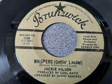 JACKIE WILSON - WHISPERS (GETTIN' LOUDER) /THE FAIREST OF THEM ALL NORTHERN SOUL