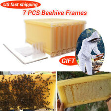 7PCS 2017 Upgraded Auto Bee Honey Hive Beekeeping Beehive Frames Harvesting