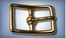 "5ea 3/4"" Center Bar Buckles Solid Brass 121B"