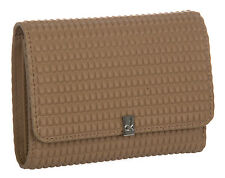 Portafoglio donna pelle wallet CK CALVIN KLEIN a.KRL102 col.052 NOCCIOLA