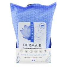 NEW Derma E Hydrating Micellar Cleansing Wipes 25wipes Womens Skin Care