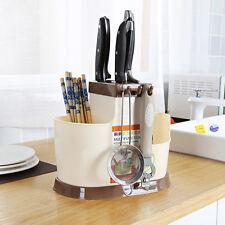 Multifunction Home Kitchen Plastic Chopsticks Knife Dish Storage Rack Shelf New