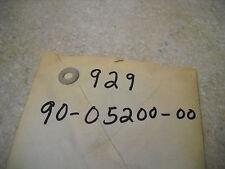NOS OEM Yamaha Plain Washer 1963-2009 RD60 XS360 XS750 XVZ1300 92990-05200