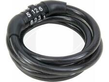 4 Digit Number Code Combination Bicycle Stroller Security Bike Lock Steel Cable