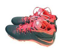 Nike Huarache 4 Lax Le LaCrosse Cleats Men's Us Size 11.5 Red 616296-060 New