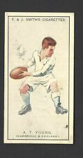 SMITH - PROMINENT RUGBY PLAYERS - #25 A T YOUNG, CAMBRIDGE & ENGLAND