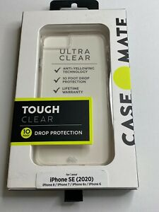 Case Mate TOUGH CLEAR Case for iPhone SE (2020) iPhone 6/7/8