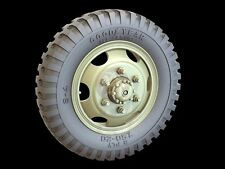 Panzer Art 1/35 Road Wheels Studebaker US6 Truck (Goodyear) (12 pieces) RE35-318