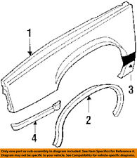 Buick GM OEM 1987 LeSabre EXTERIOR TRIM-FENDER-Body Side Molding Right 12327962