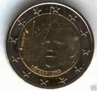 Luxemburgo 2 Euros 1ª 2007 @ Palacio Principe @ Emision Nº 4 @