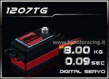 """HD-1207TG SERVO DIGITALE 8,0Kg HD LOW PROFILE"""" CON INGRANAGGI IN TITANIO HIMOTO"""
