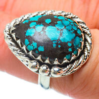 Tibetan Turquoise 925 Sterling Silver Ring Size 6.25 Ana Co Jewelry R34724F