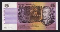Australia R-206a. (1976) 5 Dollars. Knight/Wheeler.. Gothic-Centre Thread.. UNC